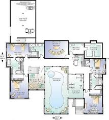 luxury house plans with indoor pool house plan w3928 detail from drummondhouseplans