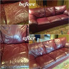 used red leather sofa customized leather dye reviews matching leather color