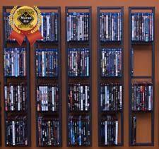 Wall Mounted Dvd Shelves by Bhg Modern Wall Mount Cd Dvd Media Rack Storage Metal Shelf