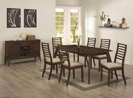 104951 stanley 5pc dining set by coaster in cappuccino w options