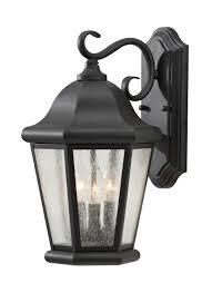 black light outdoor ol5902bk 1 light outdoor lantern black