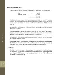 tcad financial report