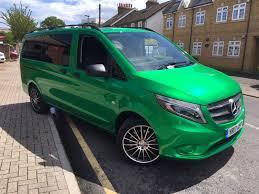 green mercedes benz mercedes benz vito u2013 creative fx