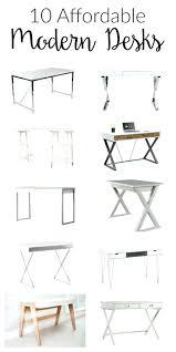 Office Desk Styles Office Design Home Office Desks Modern Style 10 Affordable