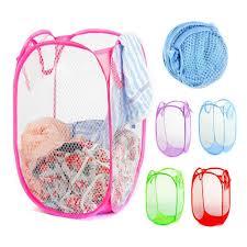 Baby Laundry Hamper by Aliexpress Com Buy Pop Up Hamper Reinforce Nylon Mesh Laundry