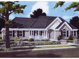 carcasonne one story home plan 065d 0211 house plans and more