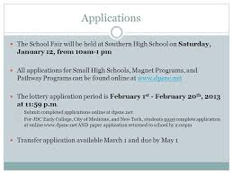 high school applications online now presenting class of options options more options durham
