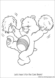 242 crafty 80 u0027s care bears coloring images