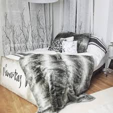fun with faux fur pottery barn to be bright