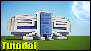 Modern House Minecraft Minecraft Modern House Tutorial How To Build A House In