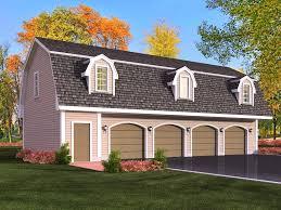 modular garage with apartment interior design