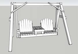 Swing Bench Plans Tete A Tete