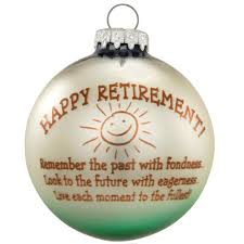 happy retirement ornament special occasion bronner s exclusive