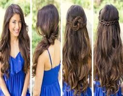 simple hairstyles for long videos hairstyles for long