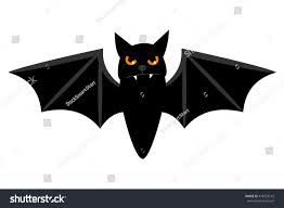 halloween background small halloween flying bat isolated on white stock vector 478323142