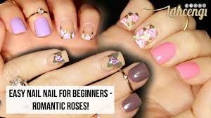 diy cute u0026 easy nail art for beginners flowers no tools