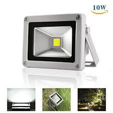120v led flood lights 10w led outdoor flood light 800lm super bright floodlight waterproof