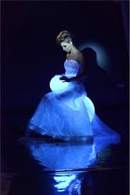 expensive bridal flash wedding dress 2014 led light dress view