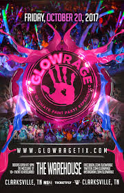 halloween city clarksville tn glowrage the ultimate paint party experience glow events