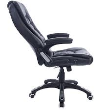 Office Chair Vector Side View Executive Recline Extra Padded Office Chair Standard Black