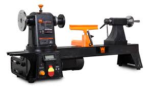 wen 12 inch by 15 inch variable speed multi directional wood lathe