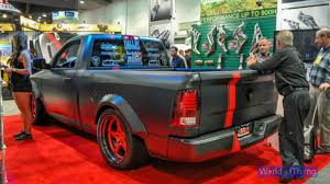 Dodge Ram Hellcat - dodge ram hellfire hellcat 707hp sema 2016 youtube