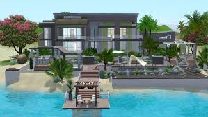 the sims 3 house building coastal shells youtube