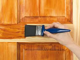 how to refinish oak kitchen cabinets how to apply stain varnish wax dye or oil to wood how tos diy