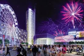 festival of light birmingham giant plaza called festival square aims to become birmingham s
