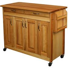 kitchen island carts and microwave carts organize it butcher block island with raised panel doors by catskill craftsmen price 681 99