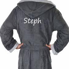 robe de chambre homme personnalisé lomilomi fr vêtements