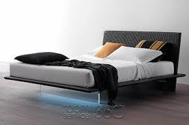 plana designer floating bed by presotto made in italy