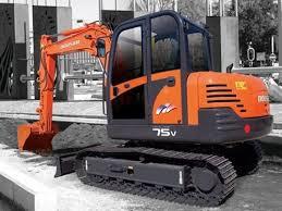 daewoo doosan solar 75 v di exp mini crawler excavator service pa