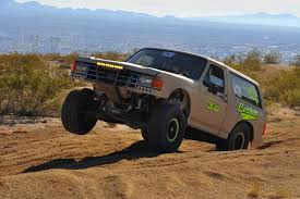 bronco trophy truck arp helps this bronco be race ready