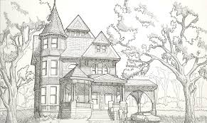 simple old house drawing u2013 modern house