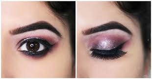 eye makeup for wedding step by step glittery eye makeup tutorial for wedding functions