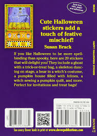 happy halloween stickers dover little activity books stickers