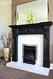 white oak fireplace mantels wooden suites wood fire dramatic black