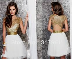 white and gold cocktail dress naf dresses