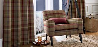 Plaid Curtain Material Charming Upholstery Fabric For Curtains Inspiration With Beaumont