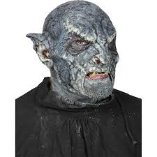 Crypt Keeper Halloween Costume Monsrous Blue Orc Mask Larp Costumes 51420950