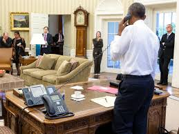 Barack Obama Oval Office Electrospaces Net The Presidential Communications Equipment Under