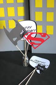 Superhero Photo Booth Comic Book Party Diy Photo Op U0026 Props Evite