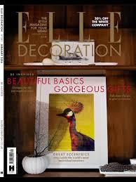 elle home decor magazine uk elle decoration uk june 2016 by eun