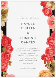invitation wedding wedding invitations at paperless post