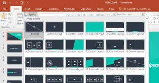 custom design layout powerpoint how to edit powerpoint slide template layouts quickly