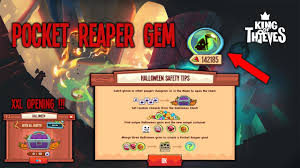 pocket reaper gem xxl chest opening king of thieves youtube