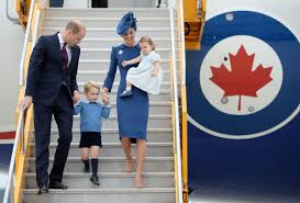 royal family arrive in victoria to begin canadian tour toronto star
