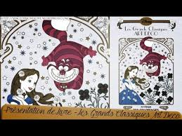 Présentation de livre  Disney les Grands Classiques Art Deco  YouTube
