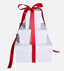 present boxes to make a custom gift box for christmas